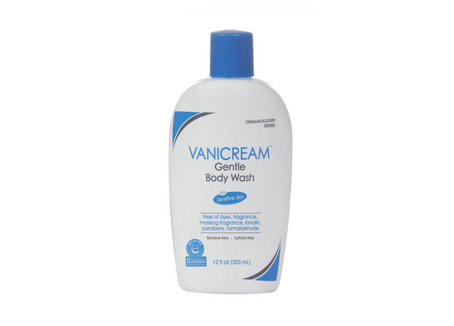 Vanicream Gentle Body Wash for Sensitive Skin 12oz