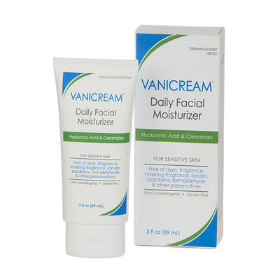 Vanicream Daily Facial Moisturizer for Sensitive Skin - Front Label